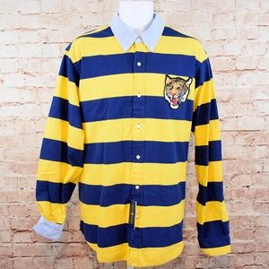 Polo Ralph Lauren Yale Tiger Patch L/S Shirt NWT
